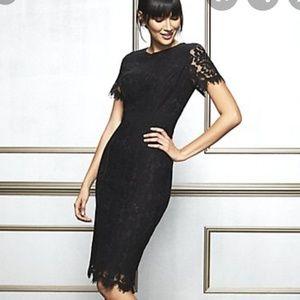 Dresses & Skirts - Black Romina Lace Dress, 8